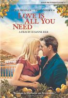 Love is all you need Book cover