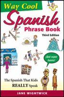 Go to record Way-cool spanish phrasebook.