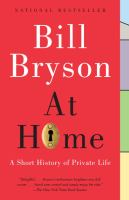 At home : a short history of private life Book cover