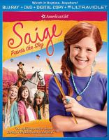 American girl. Saige paints the sky Cover Image
