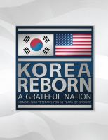 Korea reborn : a grateful nation honors war veterans for 60 years of growth Book cover