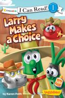 Larry makes a choice  Cover Image