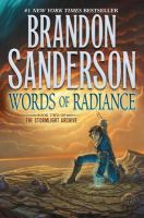 Words of radiance Book cover