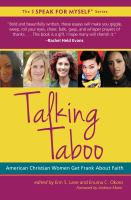 Talking taboo : American Christian women get frank about faith  Cover Image