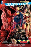 Justice League : Trinity War Book cover