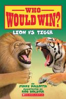 Lion vs. tiger Book cover