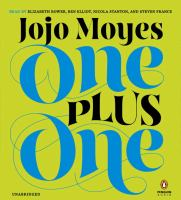 One plus one : a novel  Cover Image