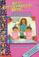 Mallory and the trouble with twins  Cover Image