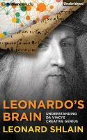 Go to record Leonardo's brain : understanding da Vinci's creative genius
