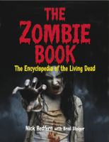 The zombie book : the encyclopedia of the living dead Book cover