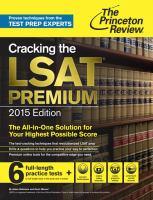 Cracking the LSAT premium  Cover Image