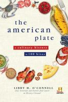The American plate : a culinary history in 100 bites Book cover
