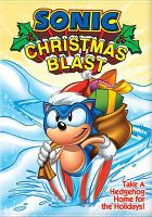 Sonic Christmas blast Book cover