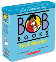 Bob books. Stage 1: starting to read First stories Book cover
