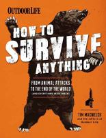 How to survive anything Book cover