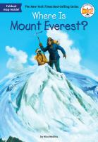 Where is Mount Everest? Book cover