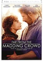 Far from the madding crowd Book cover
