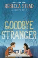 Goodbye stranger Book cover