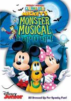 Mickey Mouse Clubhouse. Mickey's monster musical Book cover