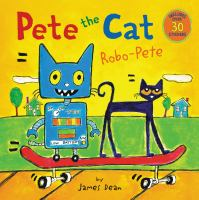 Pete the cat. Robo-Pete Book cover