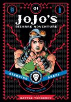 Jojo's bizarre adventure. Part 2, 01 Battle tendency Book cover