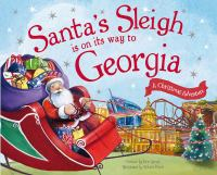 Santa's sleigh is on its way to Georgia Book cover