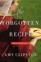 The forgotten recipe Book cover