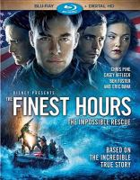 The finest hours Book cover