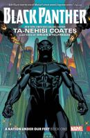 Black Panther. Book 1 A nation under our feet Book cover