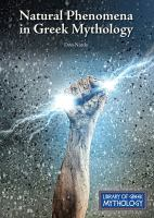 Go to record Natural phenomena in Greek mythology