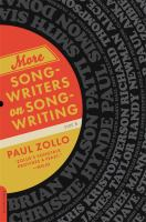 Go to record More songwriters on songwriting