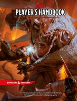 Player's handbook. Book cover
