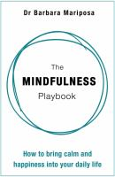 The mindfulness playbook  Cover Image