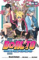 Boruto : Naruto next generations uzumaki Boruto Book cover