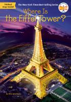 Where is the Eiffel Tower? Book cover