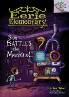 Sam battles the machine! Book cover