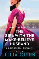 The girl with the make-believe husband Book cover