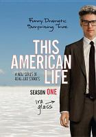 This American life. Season one  Cover Image
