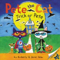 Pete the cat. Trick or Pete Book cover