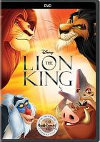 The lion king Book cover