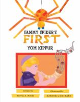 Sammy Spider's first Yom Kippur Book cover