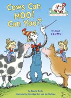 Cows can moo! Can you? Book cover