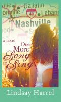 One more song to sing Book cover