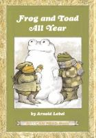 Frog and toad all year Book cover