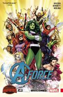 A-Force. Vol. 0, Warzones  Cover Image