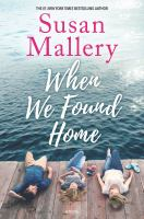 When we found home Book cover