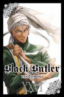 Black butler. XXVI Book cover