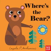 Where's the bear? Book cover