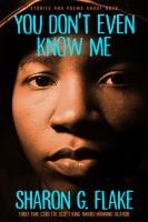 You don't even know me : stories and poems about boys Book cover