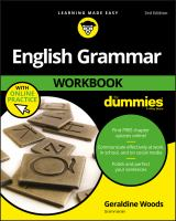 Go to record English grammar workbook for dummies